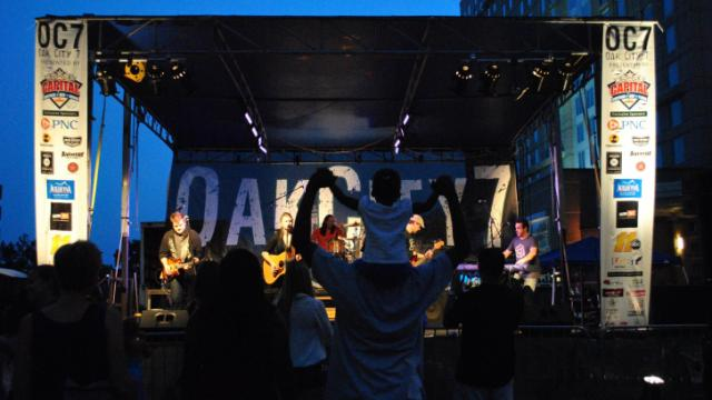 The final Oak City 7 show of 2013 was Thursday, Aug. 29, featuring Captain & The Keels, Catie King, and Matt Phillips & the Philharmonic.