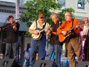 The Williamson Brothers perform at Wide Open Bluegrass.