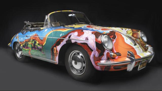 Porsche Type 356C Cabriolet, 1965, Collection of the Joplin Family, Courtesy of the Rock and Roll Hall of Fame and Museum, Cleveland, Ohio, Photograph © 2013 Peter Harholdt