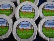 Take a tour at Chapel Hill Creamery, where happy cows produce delicious cheese.