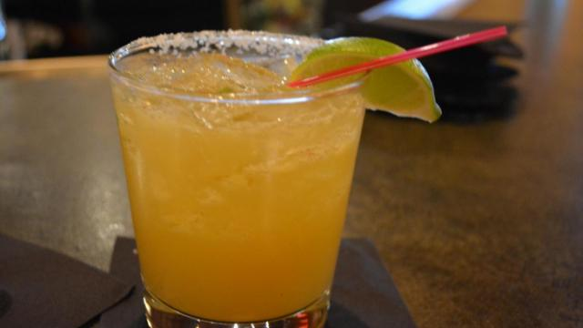 The spicy pineapple margarita at Jose and Sons in Raleigh.