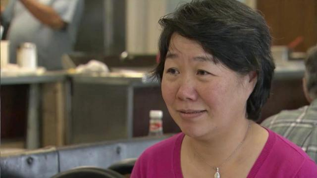 Peggy Jin, owner of Finch's Restaurant