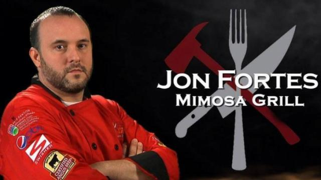Final Fire Chef Jon Fortes, Mimosa Grill (Image from Competition Dining)