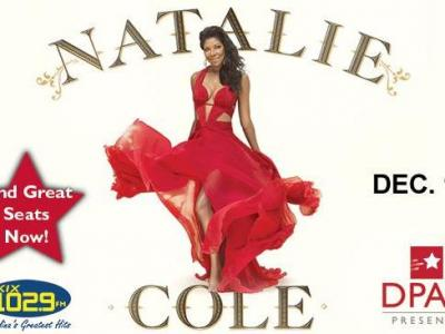Natalie Cole (Image from DPAC)