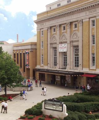 Carolina Theatre. Credit: Durham Convention & Visitors Bureau.
