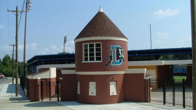 Historic Durham Athletic Park. Credit: Durham Convention & Visitors Bureau