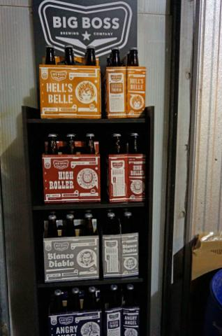 Big Boss Brewing held an open house on Monday, Feb. 25, 2014.
