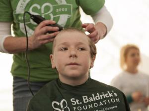 St. Baldrick's head shaving fundraising event for children's cancer research in Raleigh, NC. on Saturday, March 1, 2014.