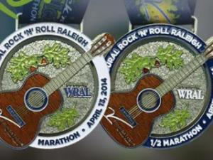 Rock 'n' Roll Raleigh Finisher Medal
