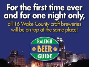 The Raleigh Beer Guide is celebrating its first edition print release, plus this will mark the first time gathering of every brewer in Wake County on tap at the same time in one place!
