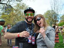 Guests sampled and enjoyed over 250 types of craft beer at World Beer Fest Raleigh on Saturday, April 5, 2014.