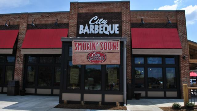 City Barbeque in Cary.