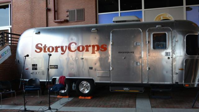 StoryCorps will be collecting oral histories through May 16, 2014, at American Tobacco Campus in Durham.