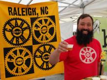 The Raleigh Downtown Farmers Market kicked off Wednesday, May 7, 2014.