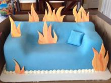A custom cake by Sweet Traditions by LeAne