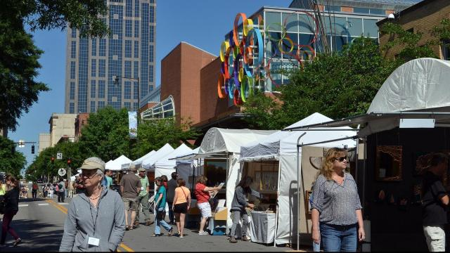 Downtown Raleigh hosts a wealth of festivals to meet any taste.