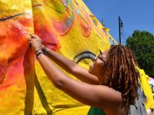 Raleigh marks the 35th year of is annual spring festival of visual and performing arts.
