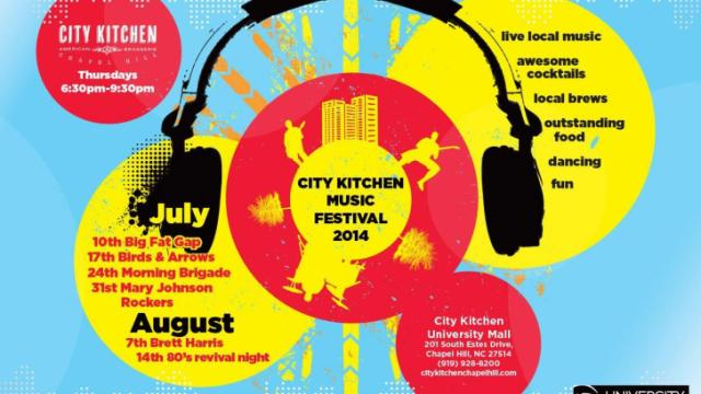 City Kitchen Music Festival