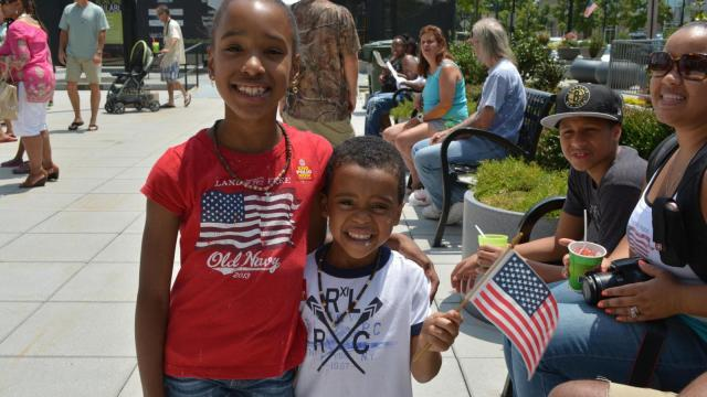 A look at the Independence Day celebration in downtown Raleigh on July 4, 2014.