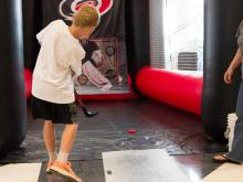 Fans got a chance to see the future of the Carolina Hurricanes Saturday as the Prospects Developmental Camp wrapped up with autograph sessions, games, celebrations and an address from new head coach Bill Peters.