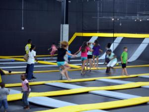 More jumping space gives DefyGravity Raleigh guests even more space to play.