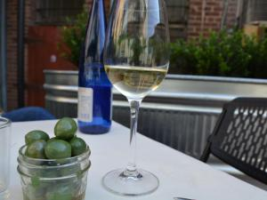 Bar Lusconi, 117 E. Main St. in Durham, offers wine, beer and small plates.