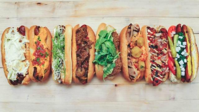 Tasty 8's hot dog shop opens on Fayetteville Street in downtown Raleigh on Aug. 22, 2014. (Image from Facebook)