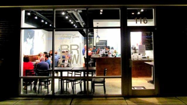BREW Coffee bar in Seaboard Station (Photo by John Huisman, Triangle Explorer)