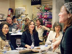 A cooking class at Whisk in Cary. (Courtesy of Whisk)