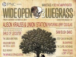 Wide Open Bluegrass Oct. 2-3, 2015
