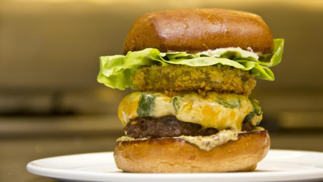 The District Burger - National Cheeseburger Day