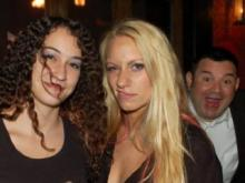 "Sometimes sneaking into a picture is too much to resist: here's a collection of our favorite ""photobomb"" nightlife photos, taken around downtown Raleigh. Photos courtesy of Carolinanightlife.com."