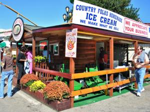 Country Folks Homemade Ice Cream from Clayton, N.C., has the hottest ice cream in the world.
