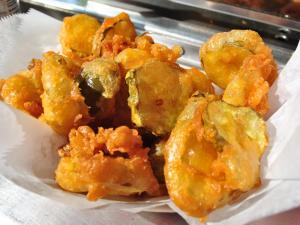 Fried veggies at the 2014 NC State Fair.
