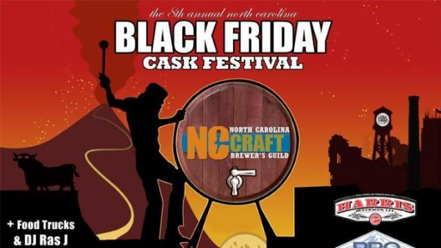 Triangle Brewing Company Black Friday Cask Festival (Image from Facebook)