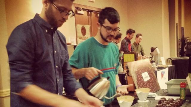 The Big Eastern Coffee Championships were held in Durham Nov. 21-23, 2014.