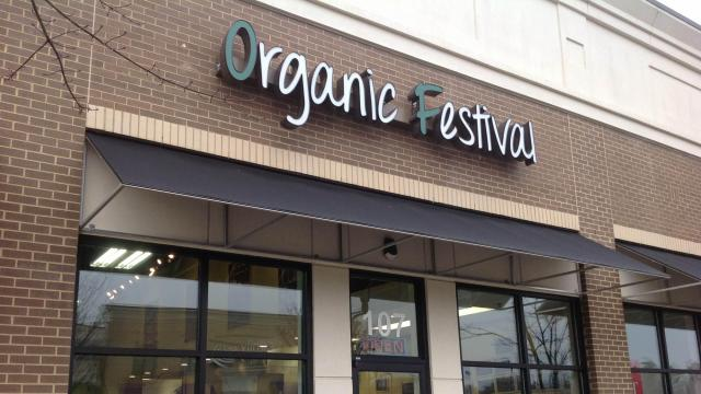 Organic Festival in north Raleigh