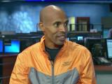 Boston Marathon winner Meb Keflezighi