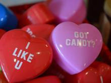 Valentine's Day offerings from Chocolate Smiles in Cary.