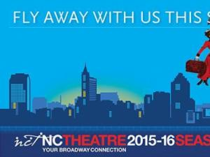 NC Theatre 2015-16 schedule