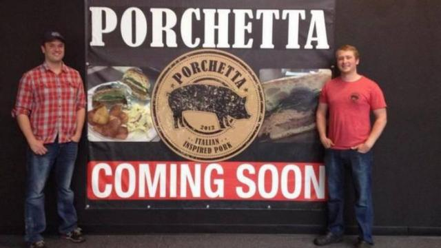 Porchetta to open in Streets at Southpoint mall in late May 2015. (Photo from Twitter)