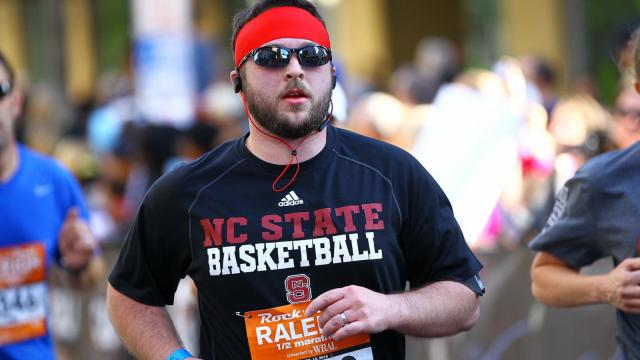 Runners have a 5K option to participate in the Rock 'n' Roll marathon weekend in 2016. (Photo by Chris Baird / WRAL Contributor).