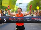 Rock 'n' Roll marathon finish line