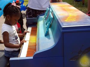 Artsplosure offered hands-on opportunities for creativity in downtown Raleigh.