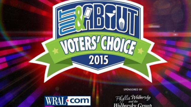 WRAL Out and About Voters' Choice Awards