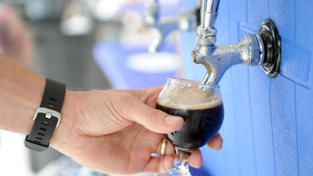 The World Beer Festival Durham featured over 250 beers on Oct. 10, 2015, at the Durham Bulls Athletic Park. (Photo by Chris Adamczyk)