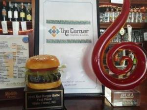 Corner Tavern and Grill won the 2015 Bull Burger Battle Contest. (Facebook)