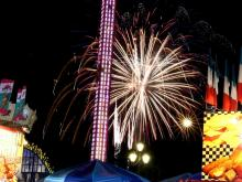 Nighttime photos from the State Fair on Oct. 21, 2015.