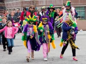 Wake Forest mardi gras