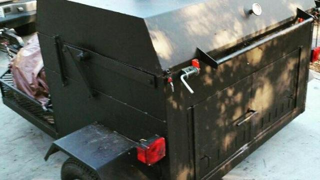 This custom cooker was stolen from Raleigh chef Ashley Christensen. Anyone who has seen it or has information should contact Raleigh police. (Facebook)